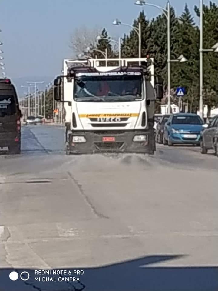 Απολυμάνσεις σε κοινόχρηστους χώρους στην Πτολεμαΐδα πραγματοποίησε ο Δήμος Εορδαίας. 5