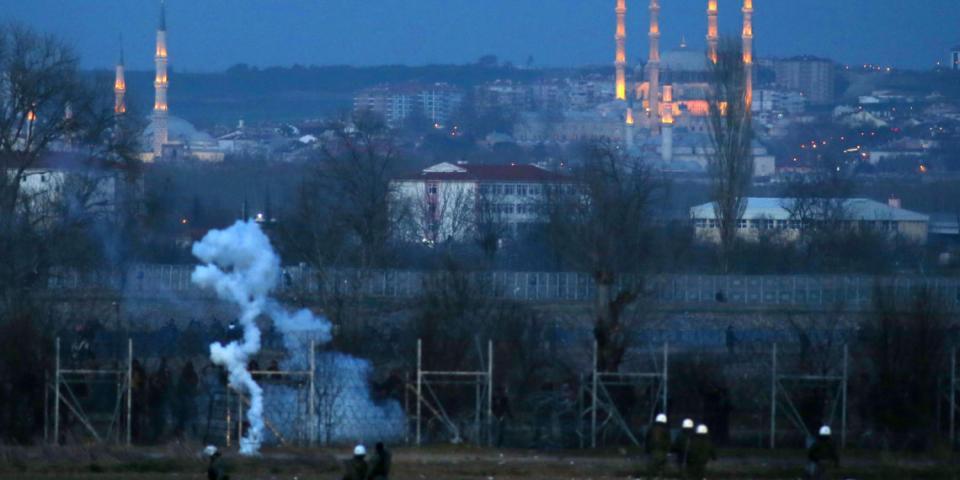 απόπειρα παραβίασης των ελληνοτουρκικών συνόρων στον Έβρο