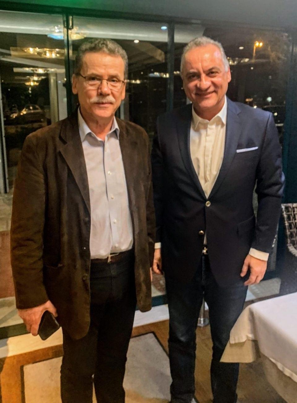 Συνάντηση του δημάρχου Κοζάνης, Λάζαρου Μαλούτα, με τον ευρωβουλευτή Μανώλη Κεφαλογιάννη