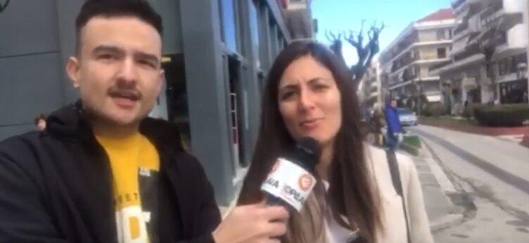 Πτολεμαΐδα : Οι πολίτες μιλούν για τον Κορωναϊο