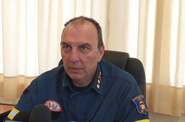 Ο Υποστράτηγος Κωνσταντίνος Παχίδης, συντονιστής Επιχειρήσεων Ηπείρου, Δυτικής Μακεδονίας και Νήσων