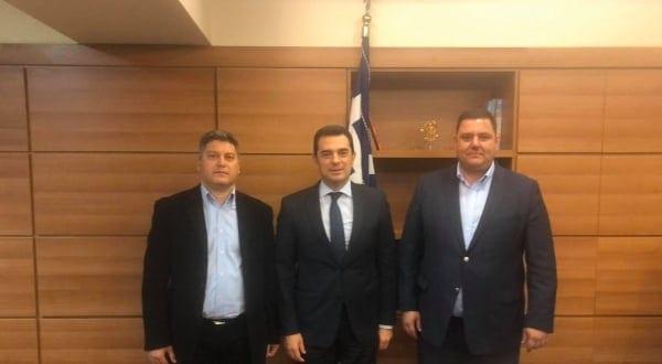 Συνάντηση των Γεωπόνων ΤΕ της ΠΕΠΤΕΓ με τον Υφυπουργό Αγροτικής Ανάπτυξης & Τροφίμων Κώστα Σκρέκα