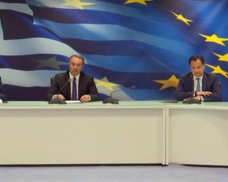 Χ.Σταϊκούρας: «Αναστέλλονται φόροι και εισφορές για όλες τις επιχειρήσεις που πλήττονται – 800 ευρώ σε κάθε εργαζόμενο»