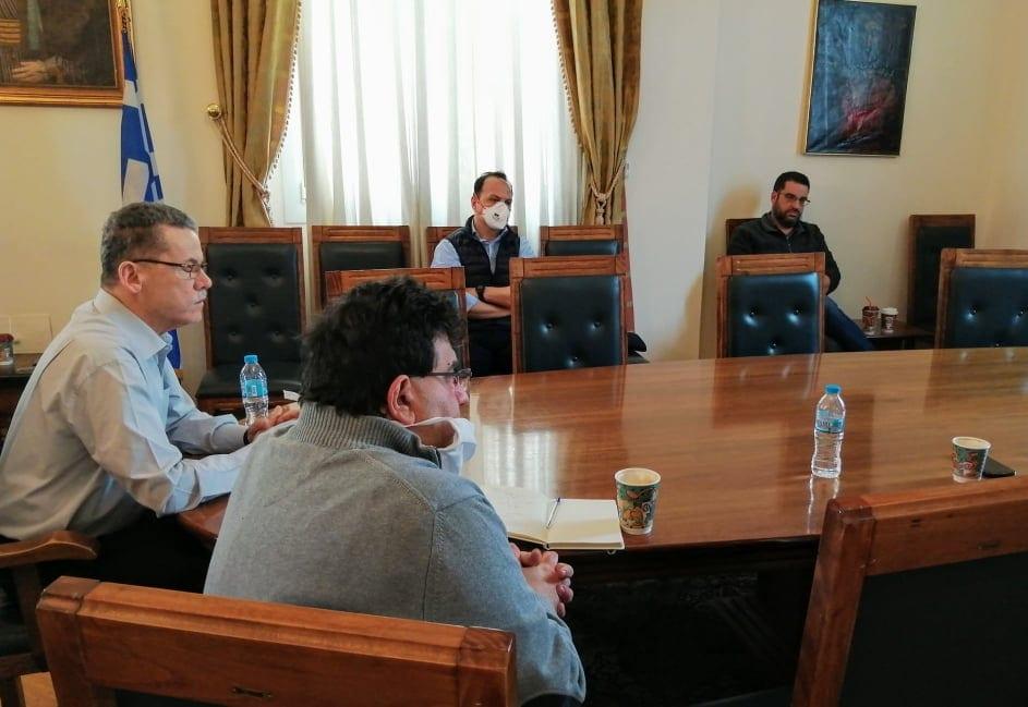 Στην Κοζάνη κλιμάκιο του ΕΟΔΥ - Συνάντηση με το δήμαρχο, Λάζαρο Μαλούτα και εκπροσώπους φορέων