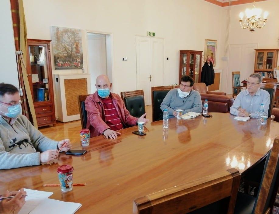 Στην Κοζάνη κλιμάκιο του ΕΟΔΥ - Συνάντηση με το δήμαρχο, Λάζαρο Μαλούτα και εκπροσώπους φορέων 5
