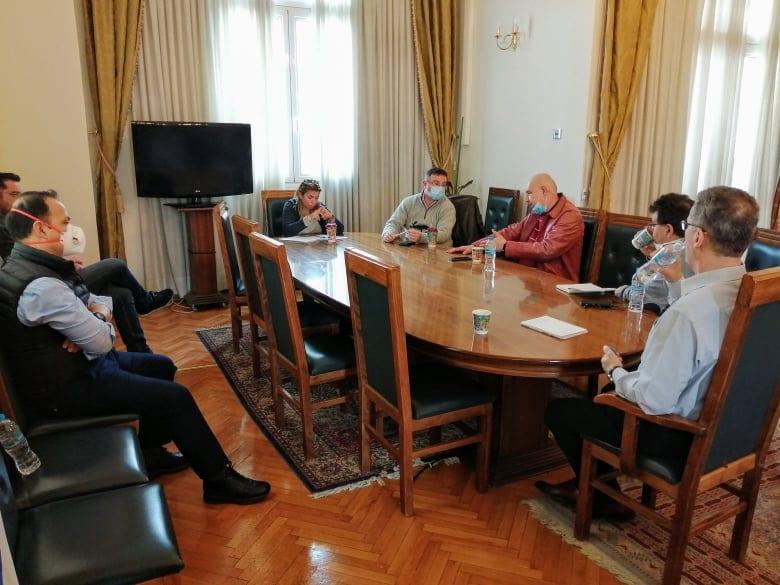 Στην Κοζάνη κλιμάκιο του ΕΟΔΥ - Συνάντηση με το δήμαρχο, Λάζαρο Μαλούτα και εκπροσώπους φορέων 6