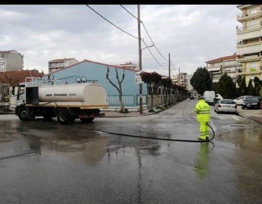 Πλύσιμο οδών και πλατειών στο Δήμο Εορδαίας. 5