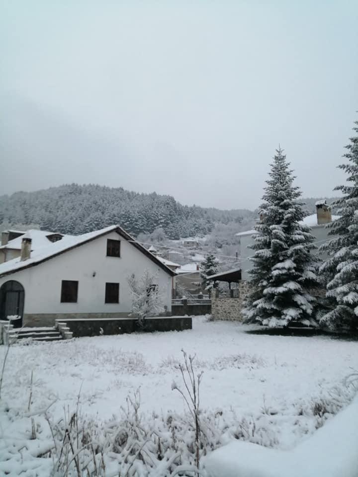 Χιονίζει από χθες στις 6 το απόγευμα στη Βλάστη με το ύψος του χιονιού να φθάνει στα 10 εκατοστά μέσα στο χωριό ενώ και σύμφωνα με τον Πρόεδρο Γιάννη Τσιούμαρη οι δρόμοι είναι καθαροί χωρίς προβλήματα για όσους θα επιθυμούσαν να ανηφορίσουν στην πανέμορφη Ορεινή Κοινότητα της Εορδαίας. Αυτήν την ώρα παρατηρείται ασθενής χιονόπτωση