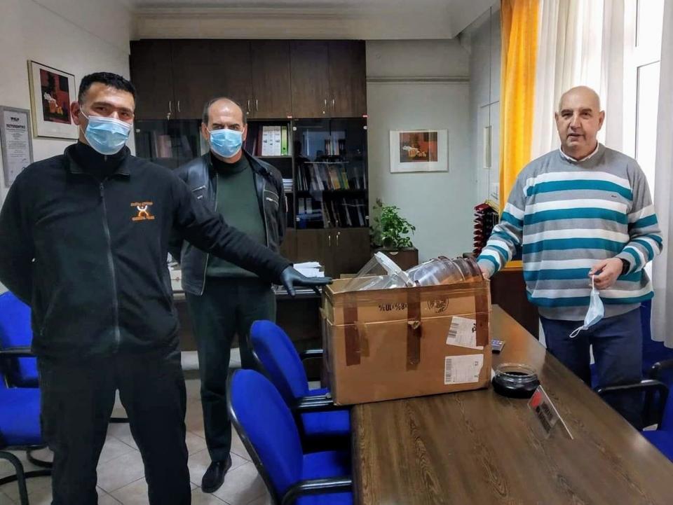 Δήμος Κοζάνης: Δωρεά προστατευτικών μασκών στο «Μαμάτσειο» Νοσοκομείο