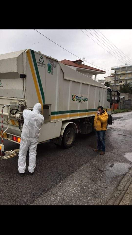Απολύμανση και πλύση των κάδων απορριμμάτων στο Δήμο Εορδαίας. 7