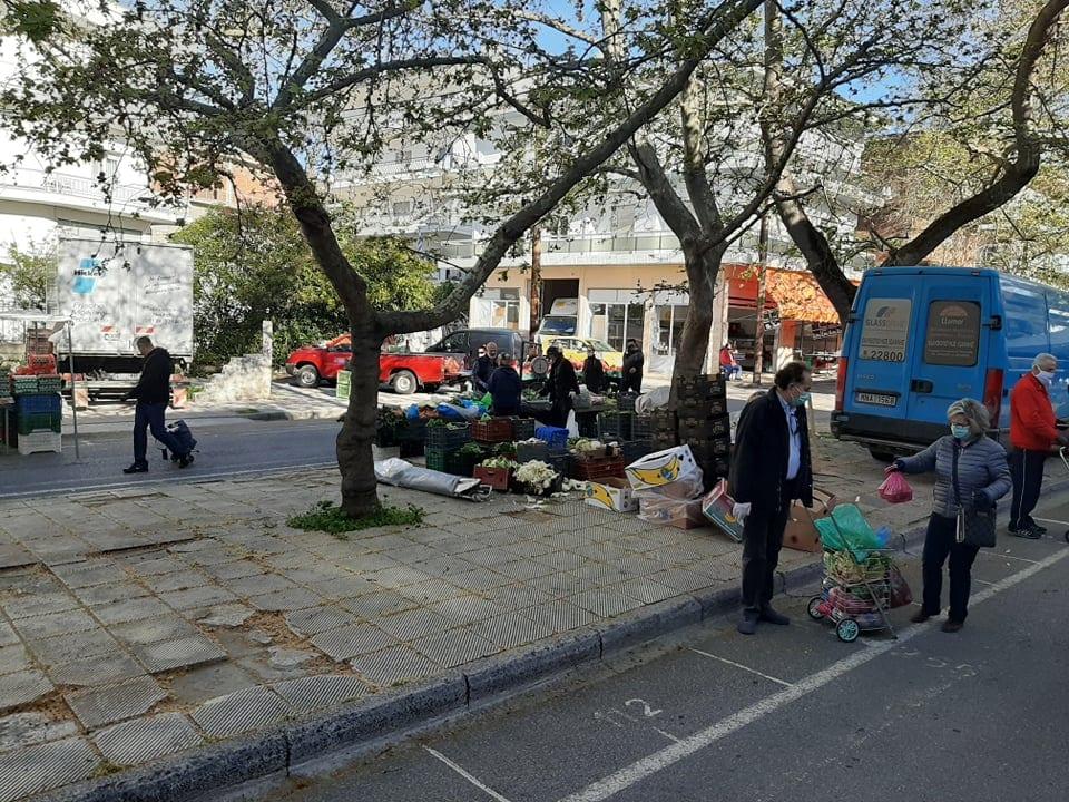 Δήμος Κοζάνης: Απαρέγκλιτη τήρηση των μέτρων προστασίας στη λαϊκή αγορά 3