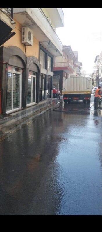 Πλύσιμο οδών και πλατειών στο Δήμο Εορδαίας. 8