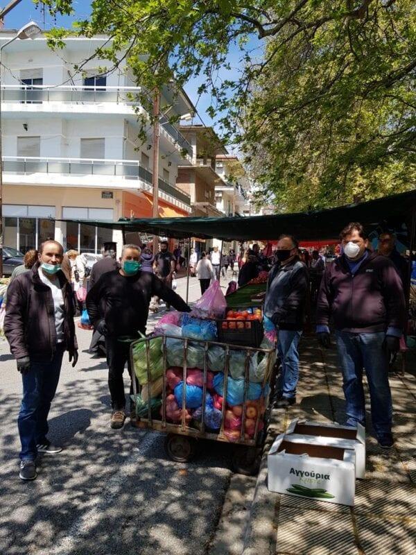 Kοζάνη: Πίνακες συμμετεχόντων λαϊκής αγοράς Αριστοτέλους