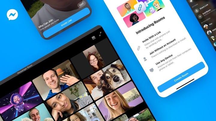 Messenger Rooms: Η νέα «πατέντα» του Facebook