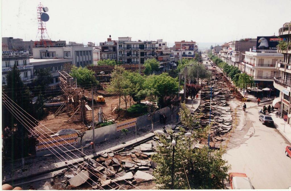 Kεντρική πλατεία Πτολεμαΐδας, και η επικαιροποίηση του σχεδίου Τότη