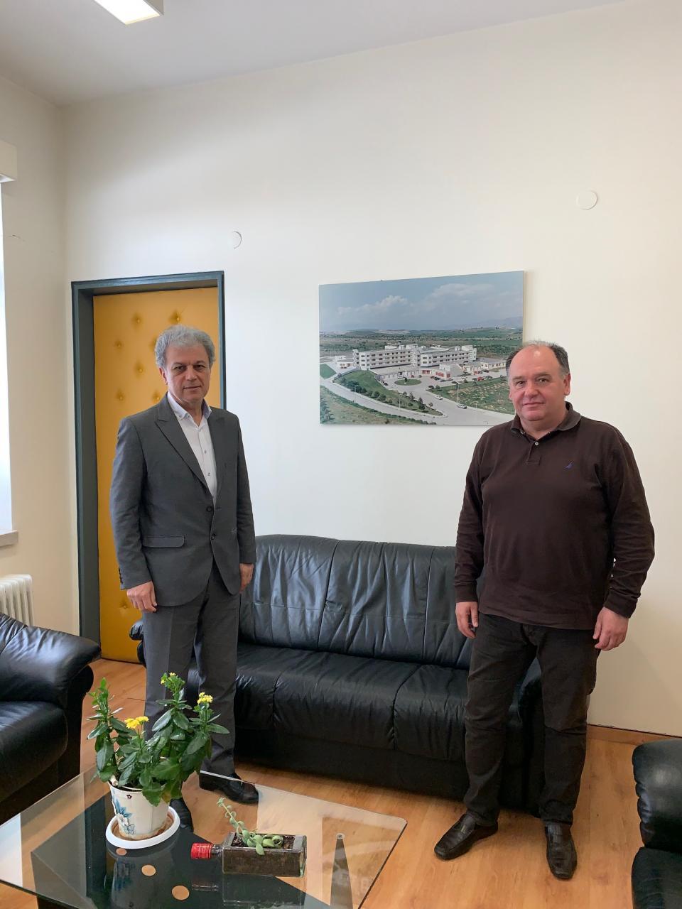 Μια παραγωγική συνεργασία έγινε στο ΜΠΟΔΟΣΑΚΕΙΟ Νοσοκομείο Πτολεμαΐδας μεταξύ του Βουλευτή Ν. Κοζάνης κ. Γιώργου Αμανατίδη και του Διοικητή του ΜΠΟΔΟΣΑΚΕΙΟΥ κ. Σταύρου Παπασωτηρίου.