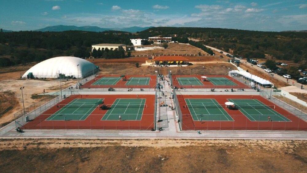 Πτολεμαΐδα - Αρχίζουν τις προπονήσεις τους οι αθλητές του τένις