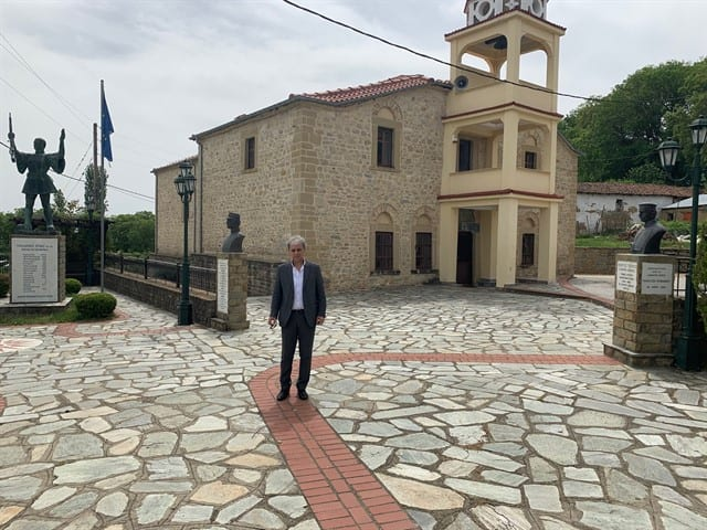 """Αμανατίδης Γιώργος: """"Το μήνυμα αισιοδοξίας και η ελπίδα για επανεκκίνηση με ασφάλεια έρχεται από τη Δραγασιά και τη Δαμασκηνιά"""" 7"""