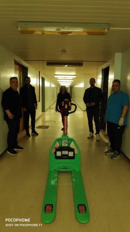 Πτολεμαΐδα: Δωρεά ηλεκτροκίνητου παλετοφόρου για τις ανάγκες του Νοσοκομείου