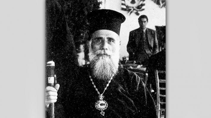 Ο ανδριάντας του Μητροπολίτη Ιωακείμ σε εξορία μαζί με την ιστορία της Κοζάνης