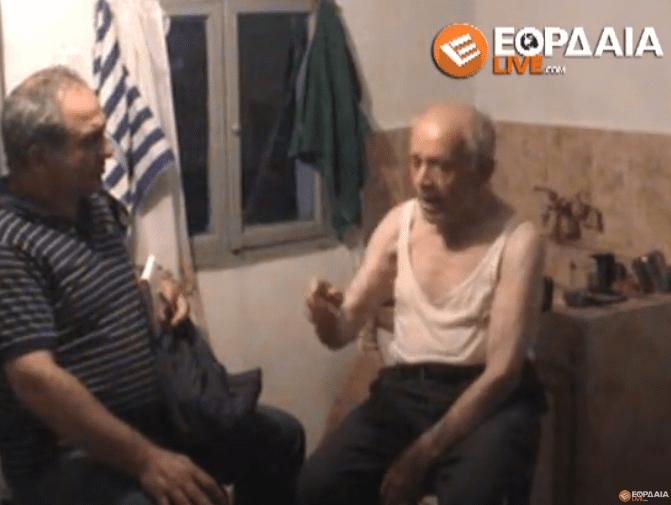 Ιστορικό βίντεο : Ο Κλήμης Πολιτίδης λίγο πριν φύγει (σχεδόν 100 ετών) μας εξιστορεί την ΟΔΥΣΣΕΙΑ της ζωής του! (βίντεο)