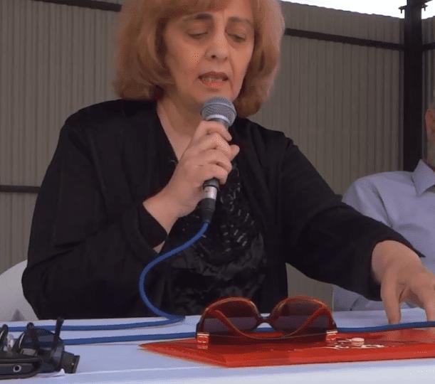 Παρακολουθήστε την ομιλία της συγγραφέως Παρθένας Τσοκτουρίδου στην Ποντιακή διάλεκτο