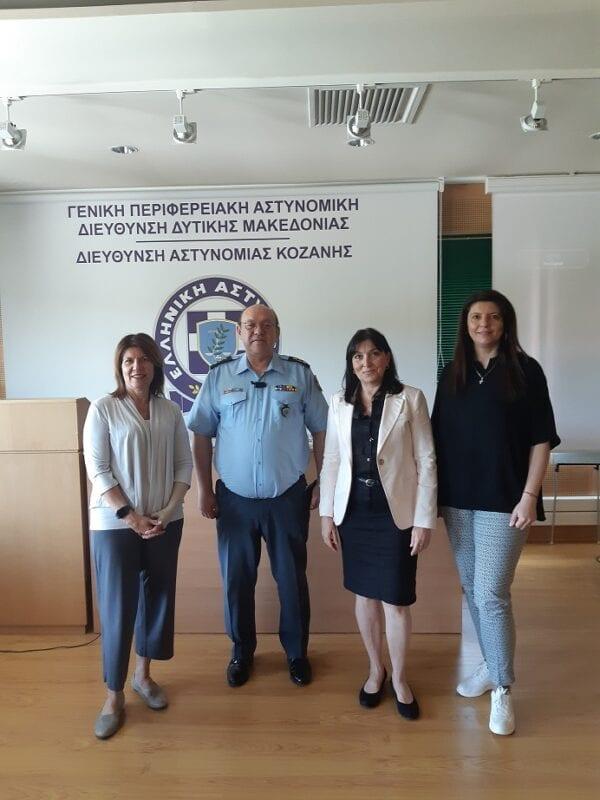 Ολοκληρώθηκε με επιτυχία εκπαίδευση που διοργανώθηκε από τη Γενική Περιφερειακή Αστυνομική Διεύθυνση Δυτικής Μακεδονίας σε θέματα αντιμετώπισης ενδοοικογενειακής βίας 11