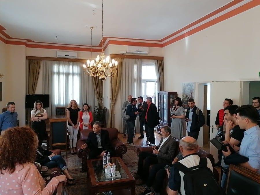 Συνάντηση του δημάρχου Κοζάνης Λάζαρου Μαλούτα με την πρόεδρο του ΚΙΝΑΛ Φώφη Γεννηματά 8