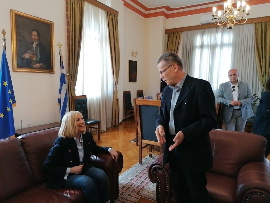 Συνάντηση του δημάρχου Κοζάνης Λάζαρου Μαλούτα με την πρόεδρο του ΚΙΝΑΛ Φώφη Γεννηματά 5