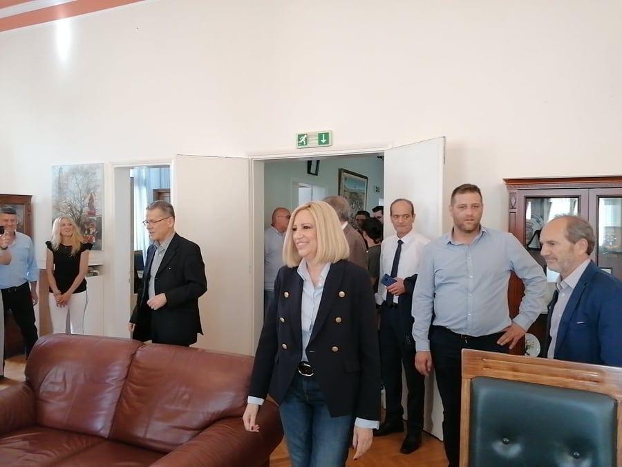 Συνάντηση του δημάρχου Κοζάνης Λάζαρου Μαλούτα με την πρόεδρο του ΚΙΝΑΛ Φώφη Γεννηματά 7