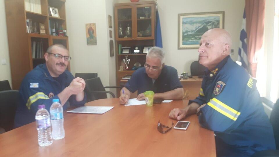 Δυτική Μακεδονία: Συνάντηση εργασίας σχετικά με την αντιπυρική περίοδο 1