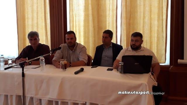 Συνέντευξη τύπου του Εορδαϊκού - Παρουσίαση του επενδυτή Θανάση Κρυτσάνη - Ανακοινώθηκε επίσημα ο Δημήτρης Σιαπανίδης - Στόχος η άνοδος στην Γ' Εθνική