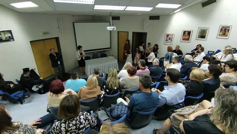 Π. Βρυζίδου: Εκδήλωση Μποδοσάκειου Νοσοκομείου για την περίοδο του κορονοϊού_ 6