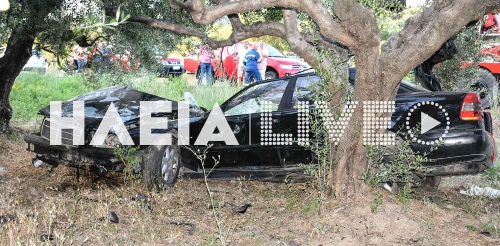 Δυστύχημα στη Ζαχάρω: 17χρονος οδηγούσε χωρίς δίπλωμα και σκοτώθηκε ο φίλος του (video)