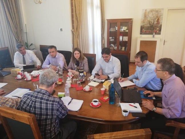 Τηλεθέρμανση: Συνάντηση του συντονιστή του Σχεδίου Δίκαιης Αναπτυξιακής Μετάβασης στη Δυτική Μακεδονία με το δήμαρχο Κοζάνης και στελέχη της ΔΕΥΑ 13
