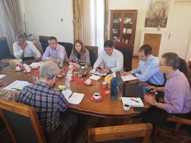 Τηλεθέρμανση: Συνάντηση του συντονιστή του Σχεδίου Δίκαιης Αναπτυξιακής Μετάβασης στη Δυτική Μακεδονία με το δήμαρχο Κοζάνης και στελέχη της ΔΕΥΑ 11