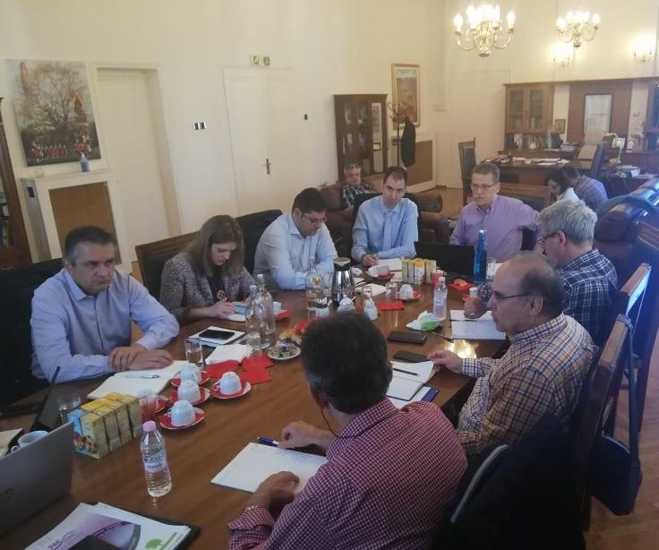 Τηλεθέρμανση: Συνάντηση του συντονιστή του Σχεδίου Δίκαιης Αναπτυξιακής Μετάβασης στη Δυτική Μακεδονία με το δήμαρχο Κοζάνης και στελέχη της ΔΕΥΑ 12