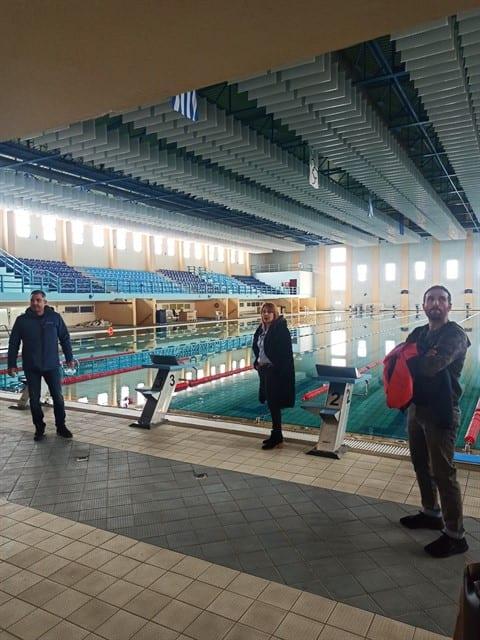 Ολοκλήρωση έργων βελτίωσης ποιότητας του ήχου στο Δημοτικό Κολυμβητήριο Πτολεμαΐδας.