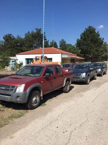 4 Φορτηγάκια (τύπου 4Χ4) απέκτησε ο Δήμος Εορδαίας, κατόπιν παραχώρησης τους από το Λ.Κ.Δ.Μ. . 2