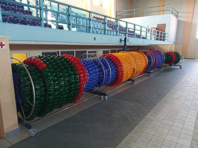 Ολοκλήρωση έργων βελτίωσης ποιότητας του ήχου στο Δημοτικό Κολυμβητήριο Πτολεμαΐδας. 4