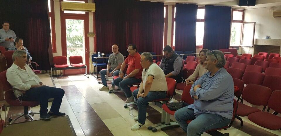 Συνάντηση ΣΠΑΡΤΑΚΟΥ – ΜΟΥΣΟΥΡΟΥΛΗ -Το σωματείο έκρουσε, για μία ακόμα φορά, το καμπανάκι του κινδύνου