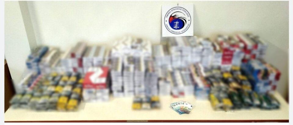 Συνελήφθησαν δύο αλλοδαποί διακινητές λαθραίων καπνικών προϊόντων στην Πτολεμαΐδα