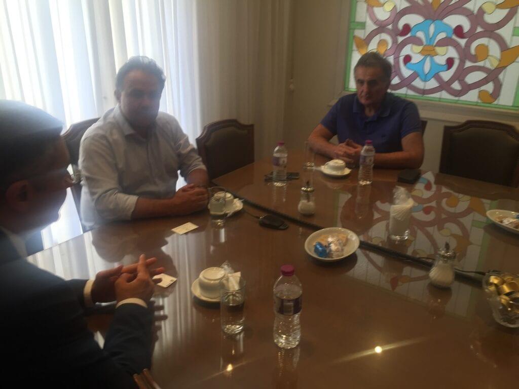 Ο Πρέσβης του Αζερμπαϊτζάν στο ΕΒΕ Κοζάνης