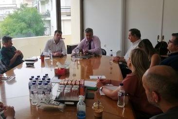Συνάντηση της Διοίκησης του ΤΕΕ/ΤΔΜ με τον Συντονιστή του Σχεδίου Δίκαιης Αναπτυξιακής Μετάβασης των περιοχών της Δυτικής Μακεδονίας και της Μεγαλόπολης, κο Μουσουρούλη Κωστή» 3