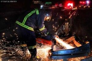Δυστύχημα με ένα νεκρό στην επαρχιακή οδό Πτολεμαΐδας- Αναρράχης