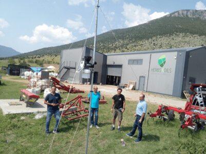Εγκατάσταση αγρομετεωρολογικών σταθμών στο Δήμο Κοζάνης: Καιρικά δεδομένα σε πραγματικό χρόνο
