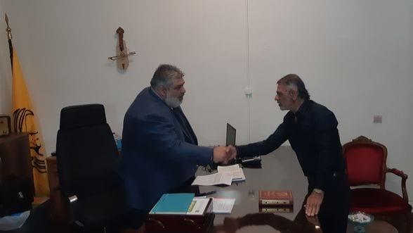 Ορκωμοσία νέου Προέδρου Κοινότητας Πενταβρύσου.