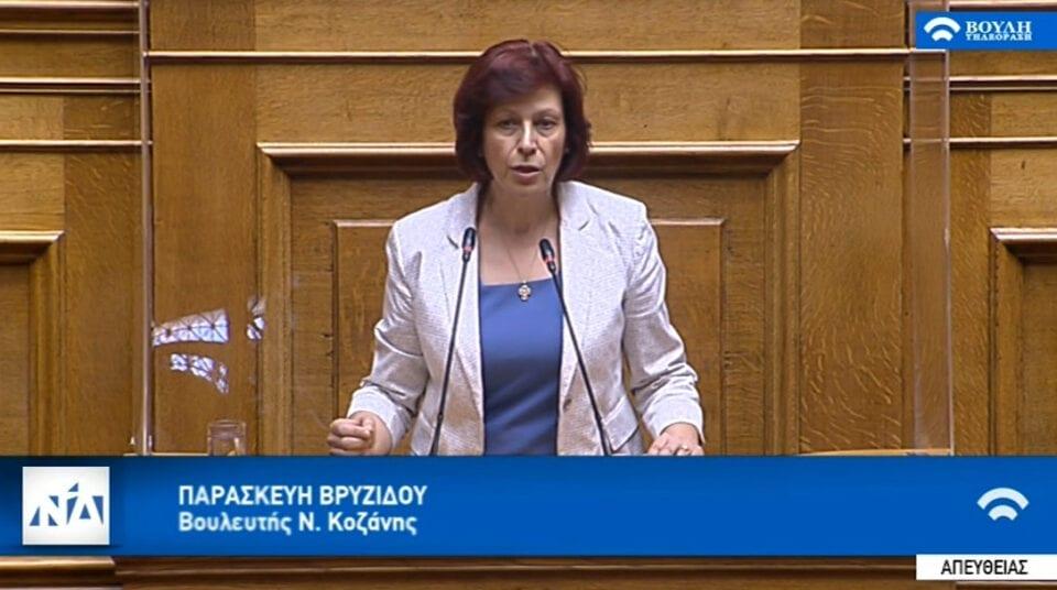 Π. Βρυζίδου- Ομιλία στην ολομέλεια της Βουλής για το σ ν για την Ενίσχυση της Ψηφιακής Διακυβέρνησης