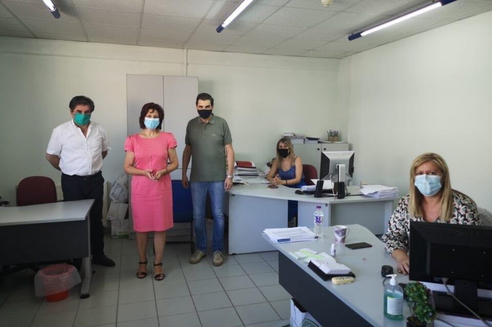 Παρασκευή Βρυζίδου: Συνεργασία με στελέχη της Εφορίας Κοζάνης