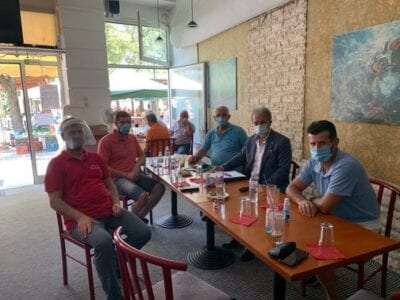 Με τον Σύλλογο Επαγγελματιών Ψαράδων λίμνης Πολυφύτου συναντήθηκε στο Βελβεντό ο Βουλευτής Ν. Κοζάνης Γιώργος Αμανατίδης